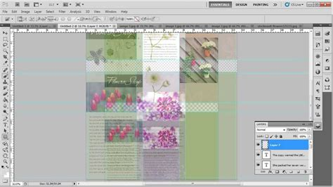 adobe photoshop brochure templates how to design a tri fold brochure in adobe photoshop