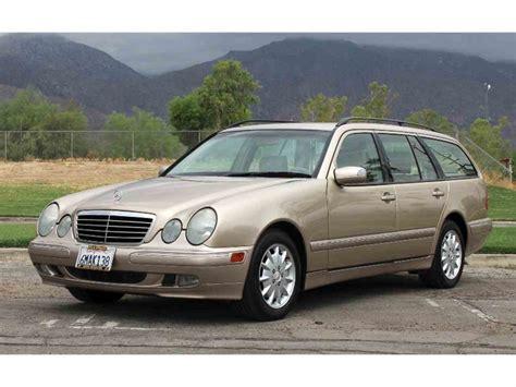 cc wagen 2000 mercedes e320 wagon for sale classiccars