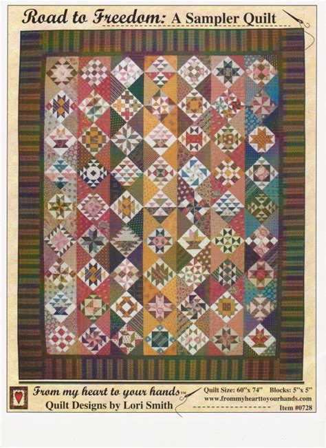 Quilt Shops In Rogers Arkansas by Road To Freedom Pattern From Lori Smith