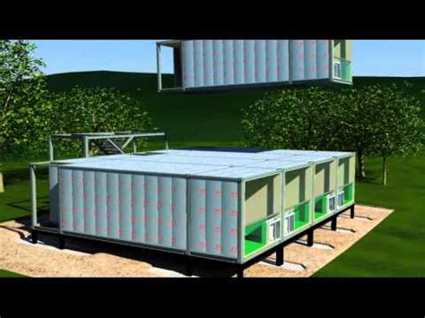 Housing Solutions by Arkistruct S Mass Produced Unfolding Accommodation And
