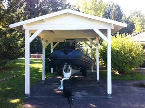 Single Carport Cost Garages Premium Timberlog