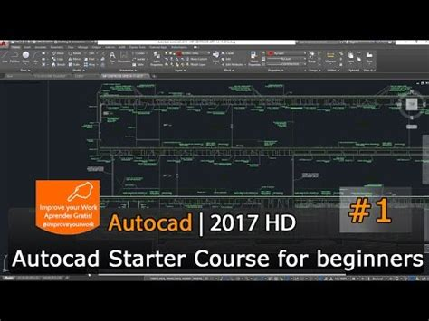 tutorial autocad download gratis autocad starter course 2017 tutorial for beginners