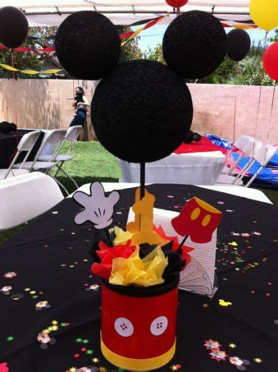 mickey mouse centerpiece mickey mouse birthday