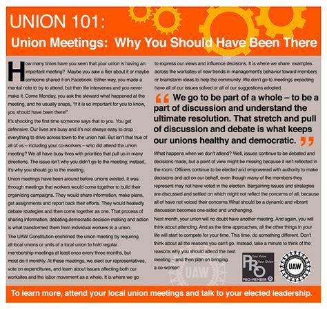 best unions union 101 uaw