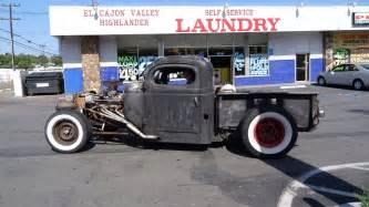 rockabilly rat rod pickup truck street car hydraulic