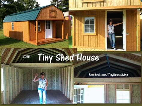 tiny shed house great    started  youre