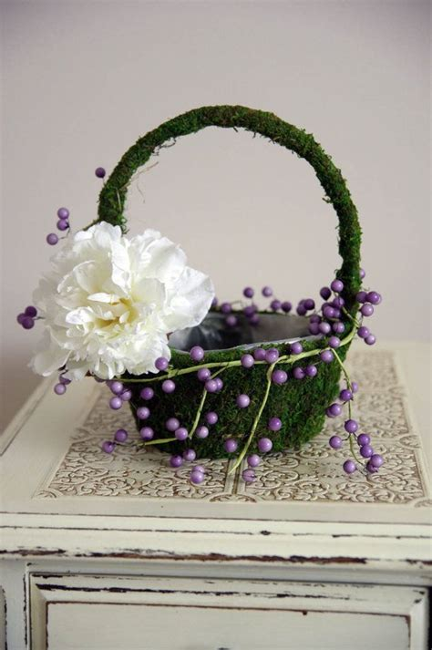 1000 images about weddings flower baskets on flower basket and bird nests