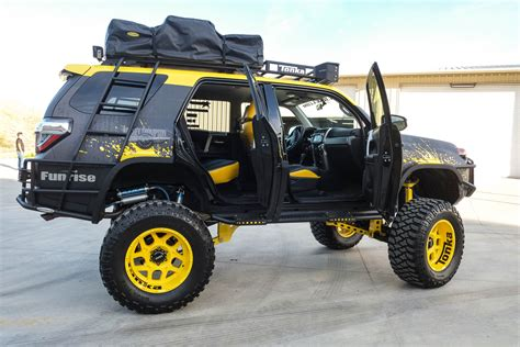Custom Toyota Funrise Debuts Custom Tonka Toyota 4runner Automotive