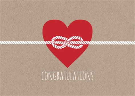 tie the knit wedding greeting cards tying the knot congratulations by