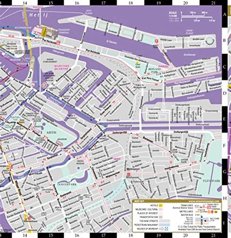 streetwise amsterdam map laminated city center map of amsterdam netherlands michelin streetwise maps books streetwise amsterdam map laminated city center
