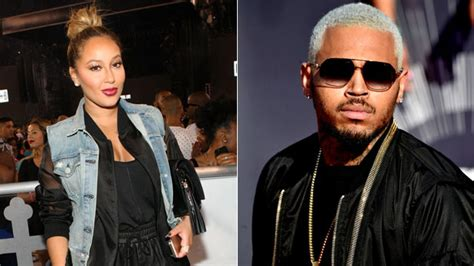 rob likes it when chris brown makes of chris brown attacks adrienne bailon on instagram rob