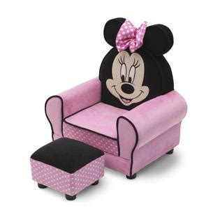 minnie mouse chair and ottoman delta children disney minnie mouse chair with ears and