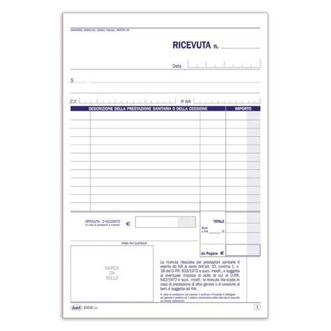 libreria medica torino ricevute sanitarie ricevute sanitarie e registro onorari