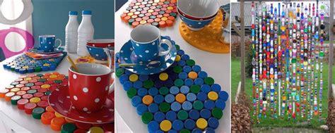 giochi si possono fare in casa creare oggetti con i tappi di plastica il fai da te