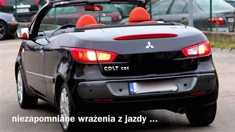 mitsubishi colt czc mitsubishi colt czc kabriolet cabrio może być tw 243 j