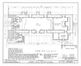 architecture floor plan architectural drawings california missions resource center