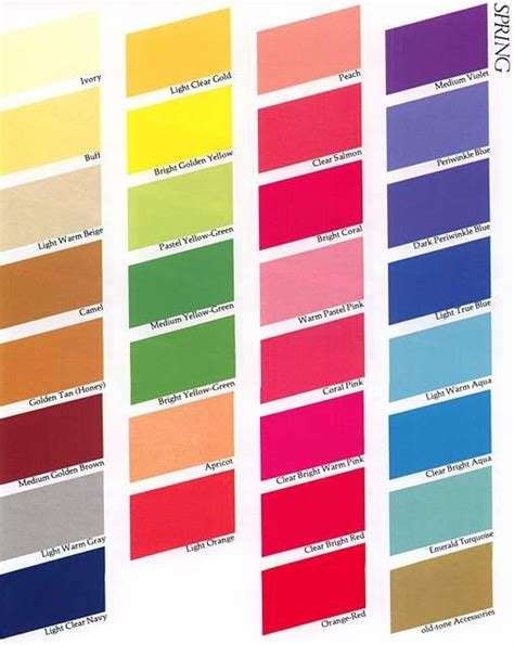 spring colors palette color me beautiful spring palette color schemes pinterest