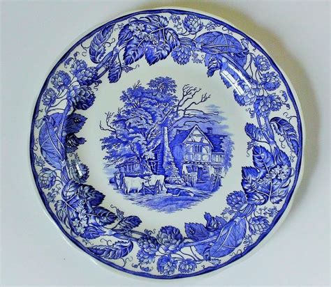 the spode blue room collection spode blue room collection rural plate from anniesavenue on ruby