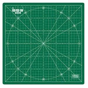 olfa rotating rotary cutting mat 30cm self healing