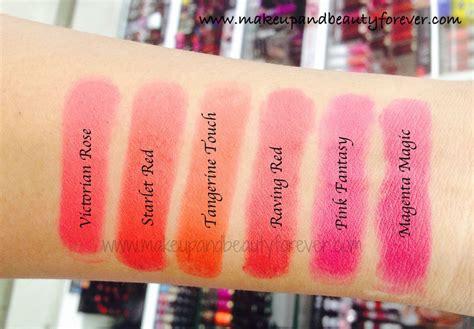 Lip Color 08 Flamingo 3g 0 1oz all lakme absolute matte lip tint pout lipstick review