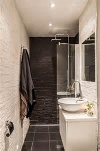 pour une salle de bain tout en longueur salle de