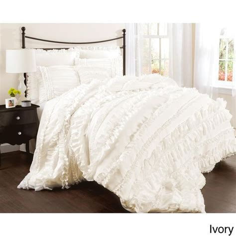 ruffle comforter set best 25 ruffled comforter ideas on pinterest white