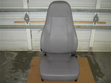 freightliner seats replacement 1 m2 freightliner semi truck gray vinyl national air ride