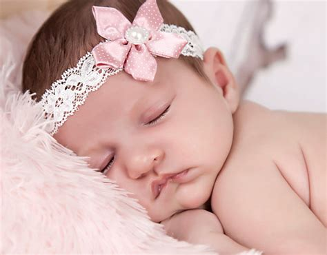 pink baby headband beautiful flower headband delicate delicate dusky pink satin flower on an ivory lace headband