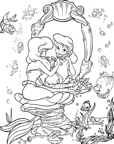 little mermaid birthday coloring pages disney the little mermaid coloring page disney coloring