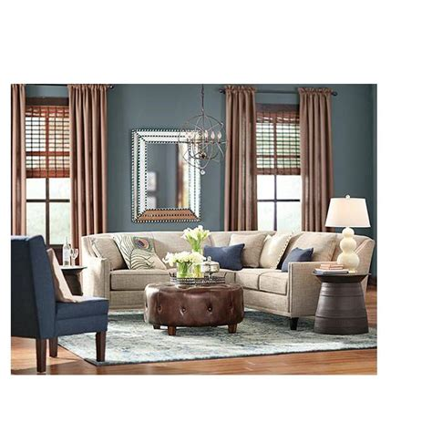 Home Decorators Ottoman Home Decorators Collection Farrow Brown Accent Ottoman 1600700820 The Home Depot