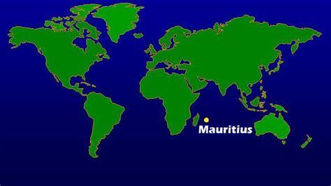 mauritius on a world map maps world map mauritius