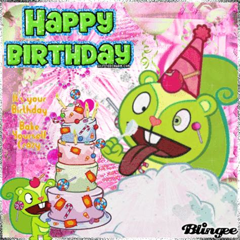 happy tree friends s day nutty wishes you a happy birthday picture 120552458