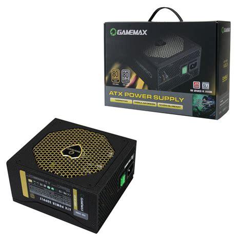 Gamemax Psu 500w Gm 500g 80 Gold Certified Modular max gm500 500w 80 plus bronze modular power supply ebuyer