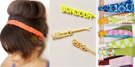 Easy Diy Hair Accessories by The 38 Most Creative Diy Hair Accessories We Could Find