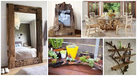15 Unique Driftwood Decoration Ideas That Will Make Your