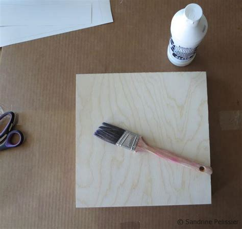 preparing woodwork for painting how to paint acrylic flowers on board step by step