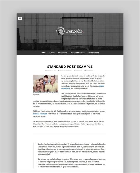 best blogger templates for writers 17 best wordpress themes for writers and authors 2017