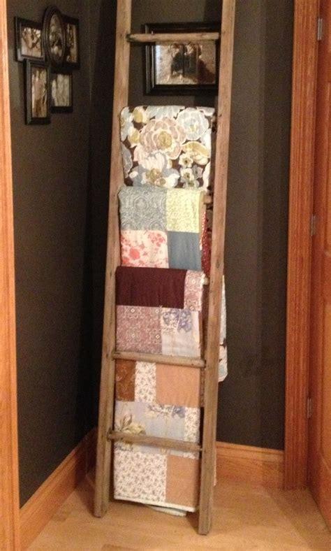 Quilt Rack Ladder ladder quilt rack cozy quilts quilt