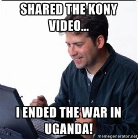 Kony 2012 Meme - kony 2012 know your meme
