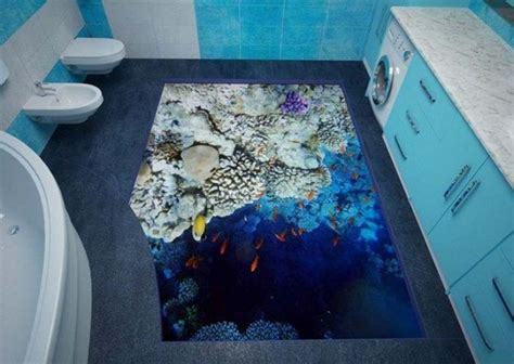 Unique Bathroom Floor Ideas 14 Unique 3d Bathroom Floor Designs That Will Your Mind Top Inspirations