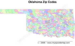 Edmond Zip Code Map by Map Of Oklahoma Oklahoma Maps Mapsof Net