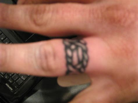 tribal wedding ring tattoos celtic tattoos and designs page 7