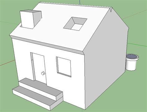 google sketchup house tutorial basic jordan s sketchup house sleigh mr williams pupil