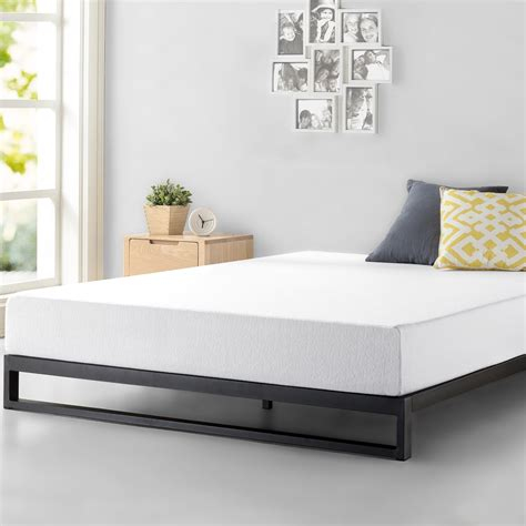 zinus trisha cm heavy duty  profile platforma bed