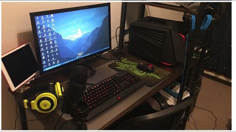 how to make a gaming setup new gaming pc setup youtube