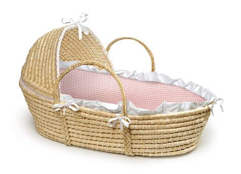 moses bed new baby moses basket bassinet cradle bed crib pink