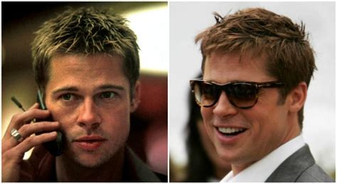 brad pitts haircut in seven how to get brad pitt s fury hairstyle pompadour hair cut