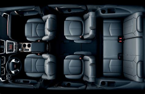 2016 gmc suv with comfortable third row seats