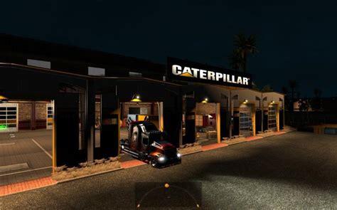 large garage large garage caterpillar ats 1 4 x mod american truck