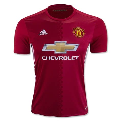 manchester united official soccer jerseys official soccer manchester united 2016 17 home soccer jersey 1602291424